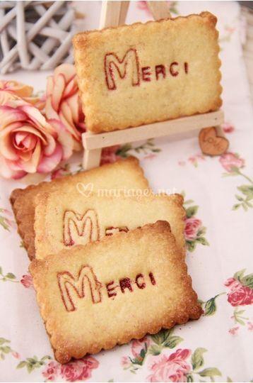Biscuits message personnalisés