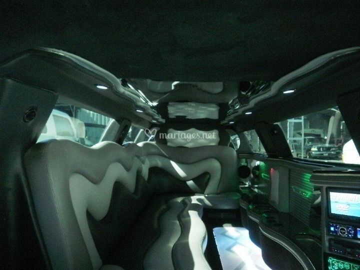Chrysler 300C intérieur