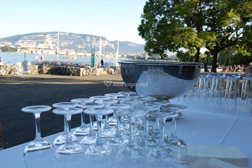 Cocktail - Lac de Genève