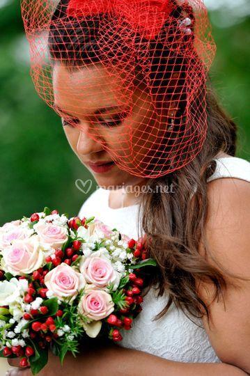 La mariée et ses couleurs