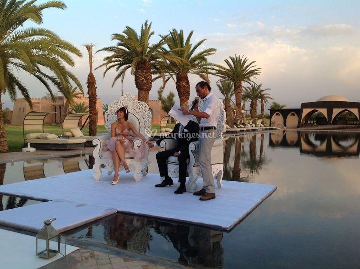 Mariage sur Marrakech