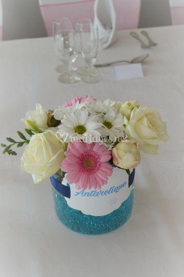 Entre plume et perle for Bouquet fleuri