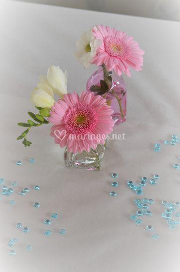 Min d co florale de entre plume et perle photo 31 for Perle d eau decoration florale