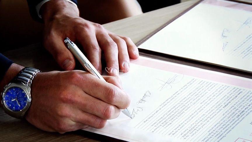 Signatures mairie
