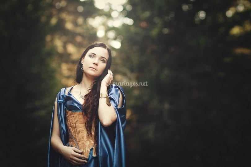 Robe alernative avec corset