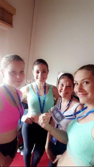 Concours de danse en groupe
