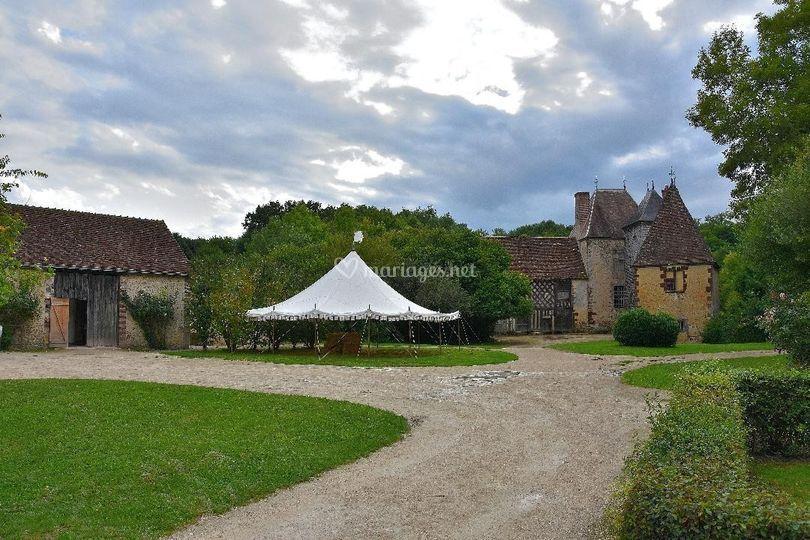 La tente médiévale