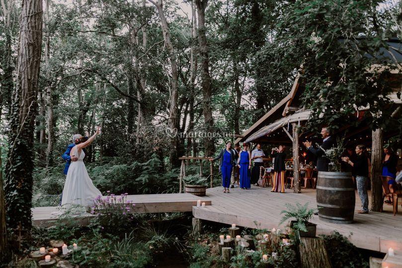 Photo de mariage à Angresse