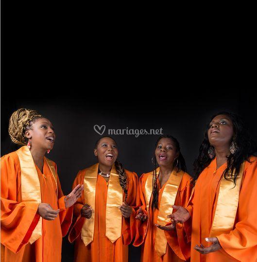 Simply Gospel Prestation 4 Choristes