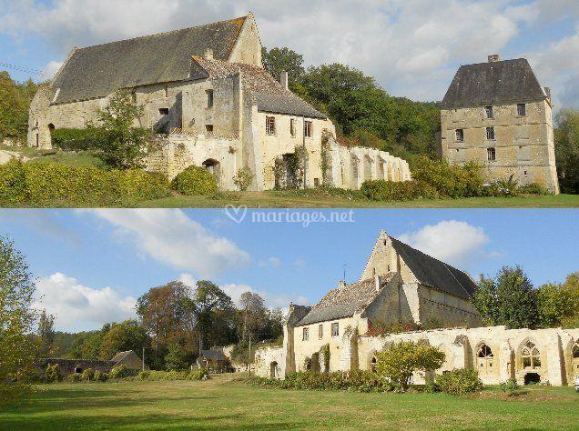 Vues de l'abbaye