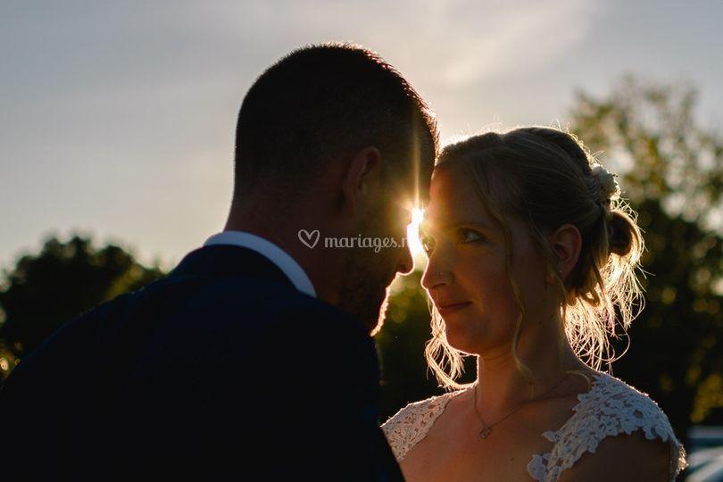 Golden mariage