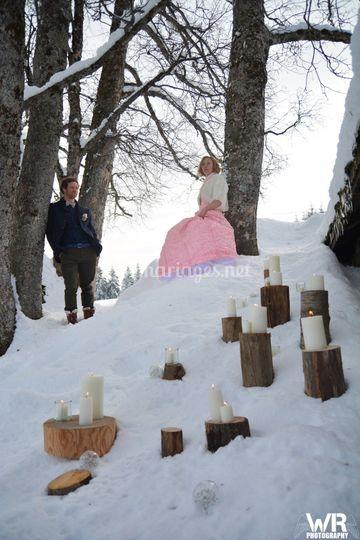 Marelie Mariage en montagne
