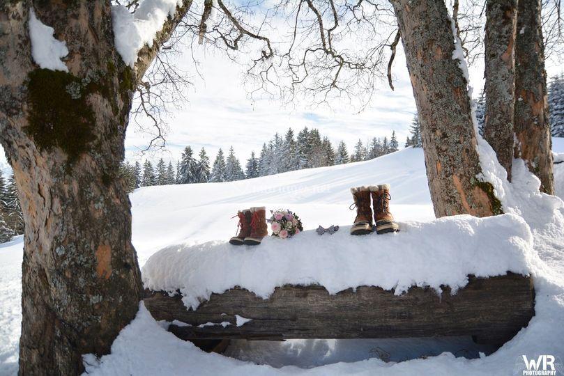 Marelie Mariage en hiver