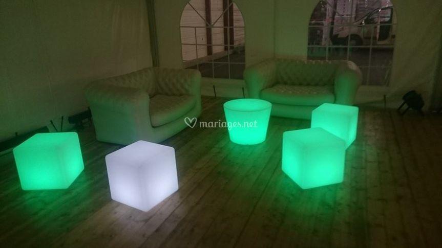 Mobilier LED