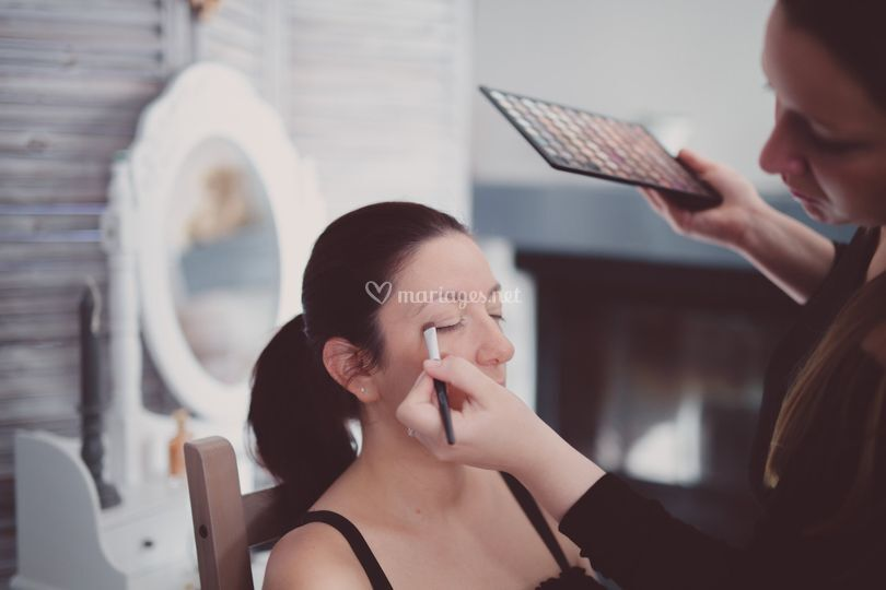 Séance make up