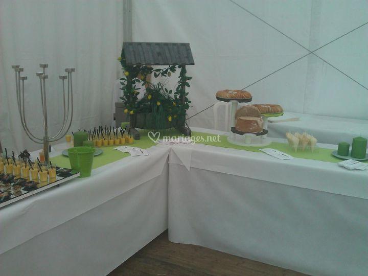 buffet mariage sur le lion dor traiteur jrme cantagrel - Traiteur Aveyron Mariage