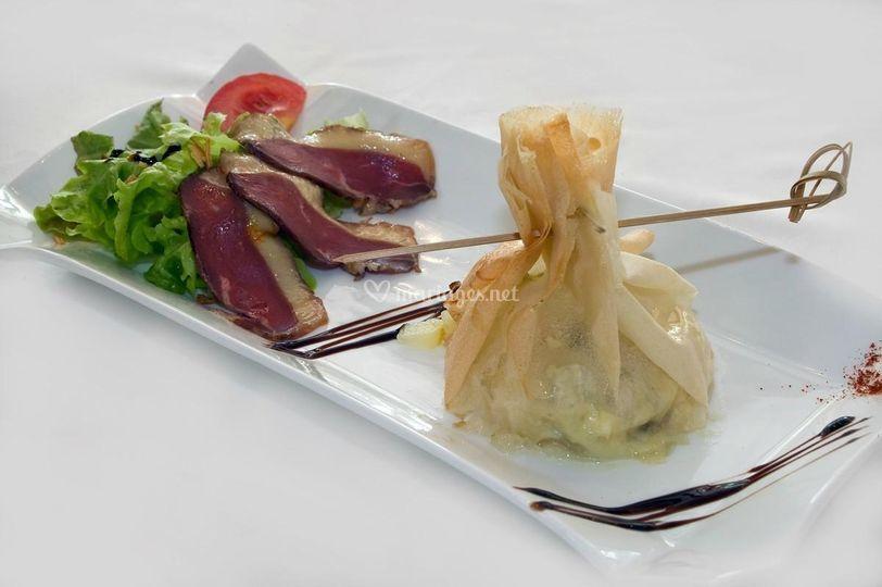 salade sur le lion dor traiteur jrme cantagrel - Traiteur Aveyron Mariage