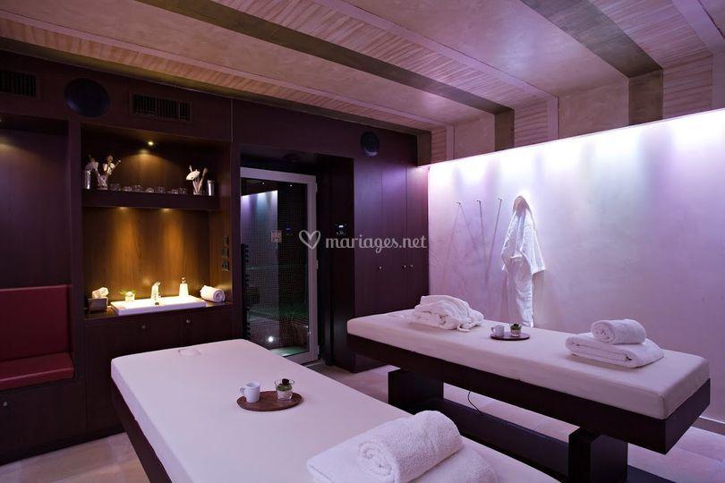 spa cabine de soins sur chteau de pizay - Chateau De Pizay Mariage