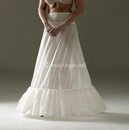 Jupon crinoline mariage ample