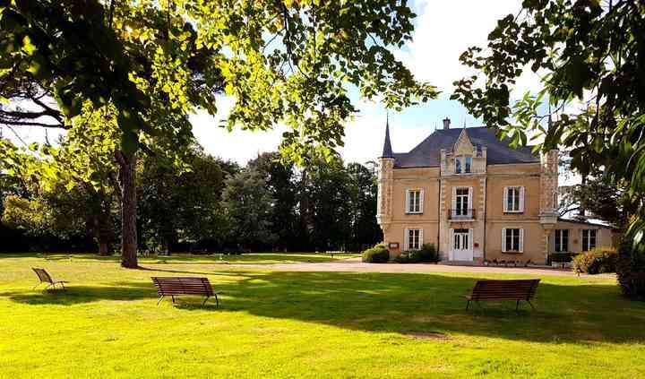 Château vu du parc
