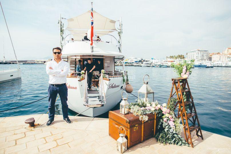 Nadia Fry Events Yacht