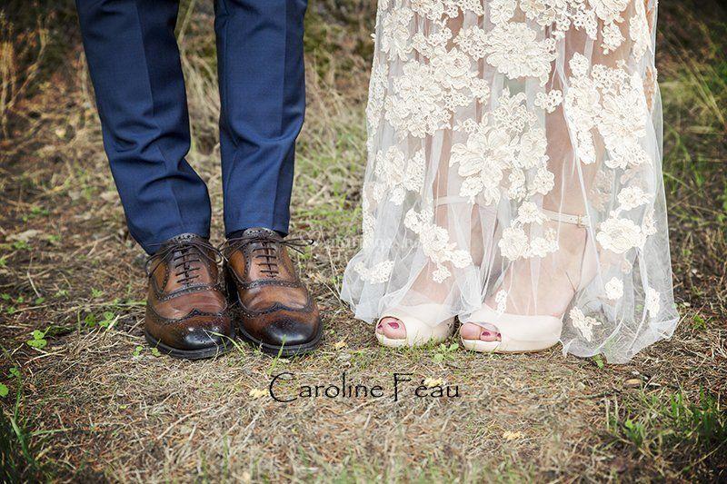 Pieds mariés