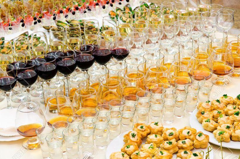 Buffet boissons