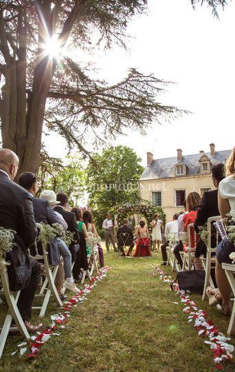 La cérémonie laïque