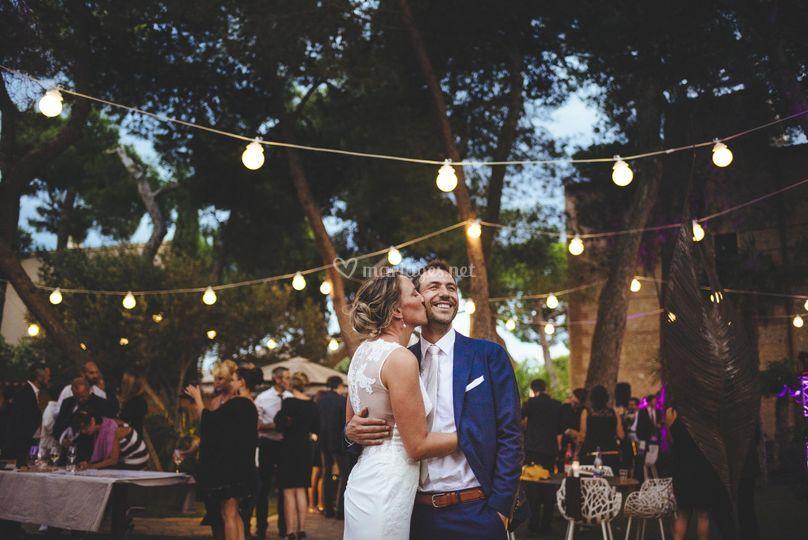 Photo couple réception