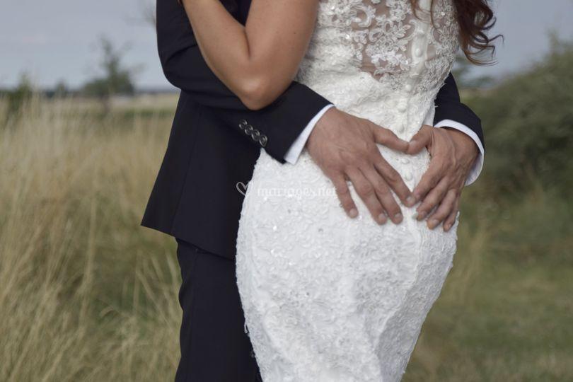 Mariage couple/ détails
