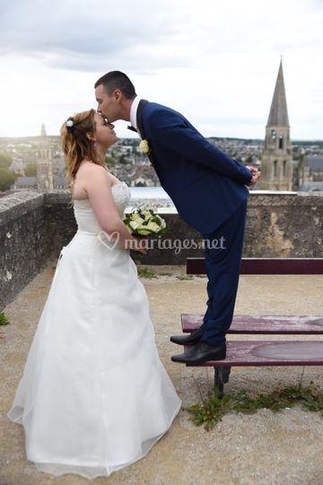 Mariage couple vendomois
