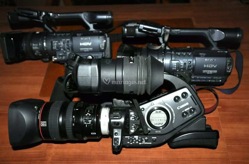 3 cameras HD - reportage vidéo