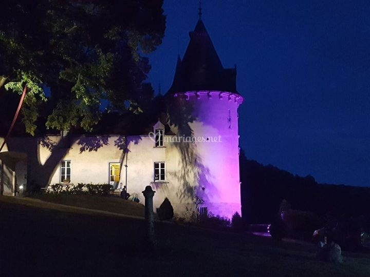 Éclairage château