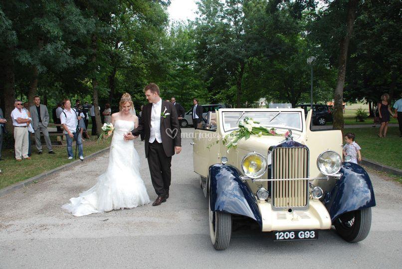 Le carrosse des mariés