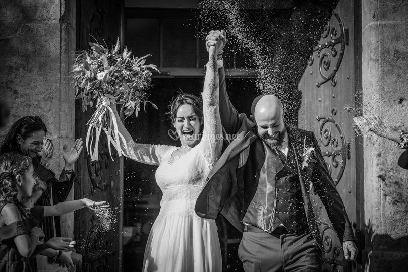 Photo mariage église