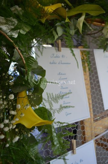 Papeterie plan de table