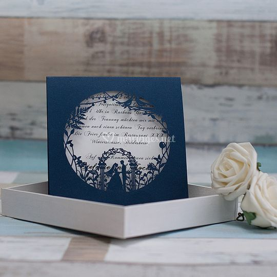 Faire part Ciselé