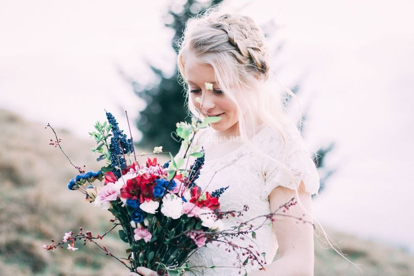 Mariée au naturel