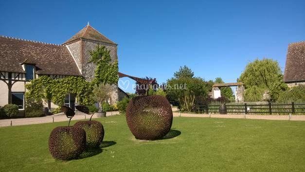 Pommes sculptées