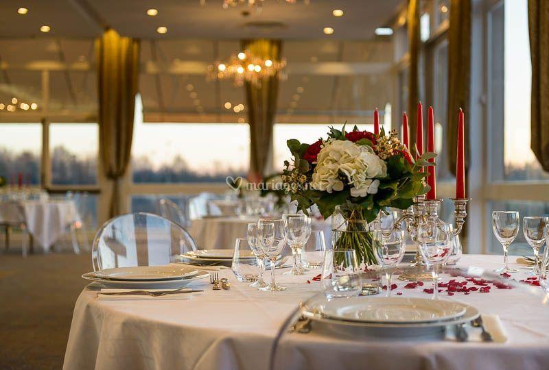 Table bouquet Panoramique