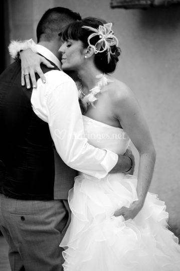 Affection en noir et blanc