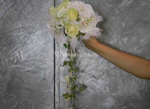 Au jardin fleuri - Le bouquet de la mariee ...