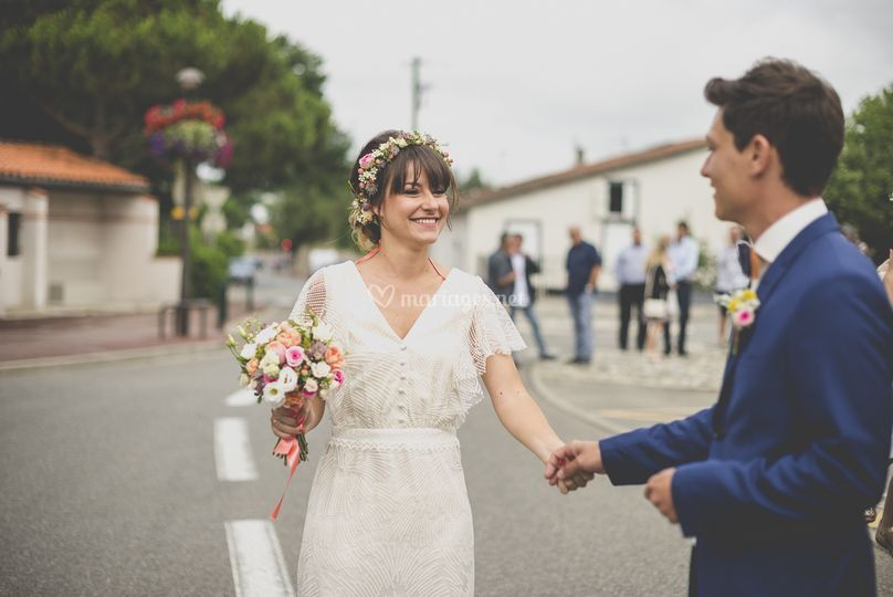 Mariés avant cérémonie