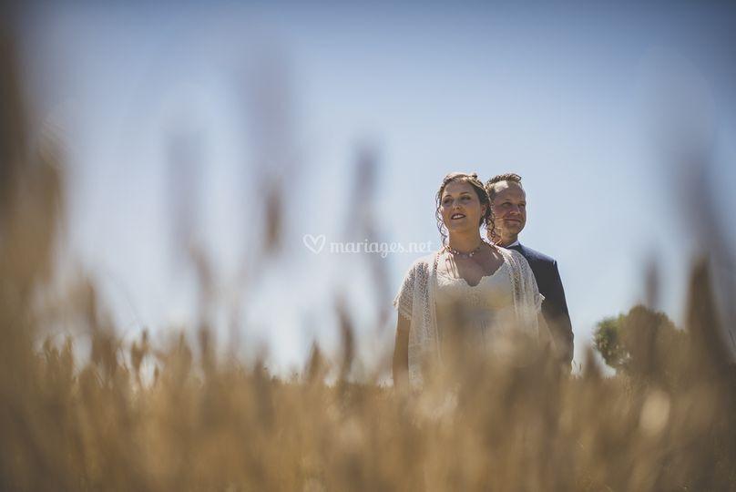 Séance couple avant cérémonie