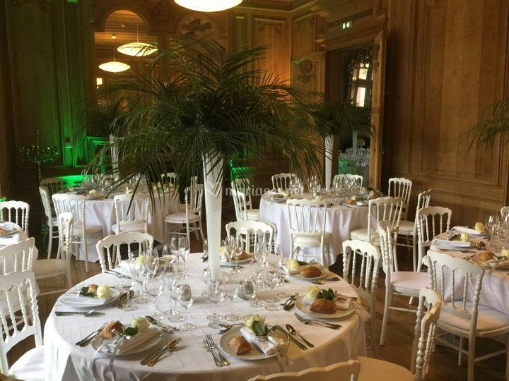 Salon de réception mariage