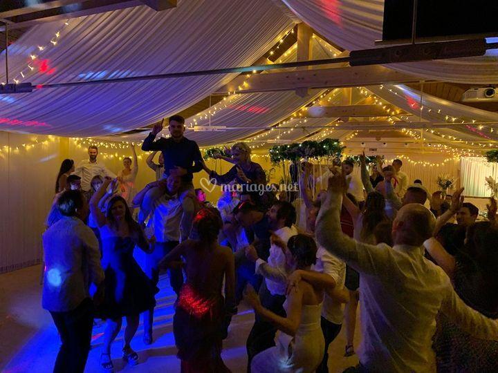 Ambiance danse musique mariage