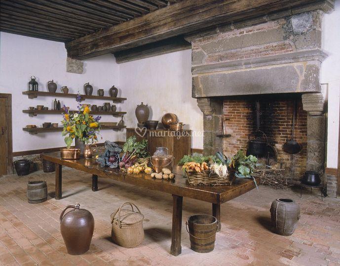 Ancienne cuisine du château