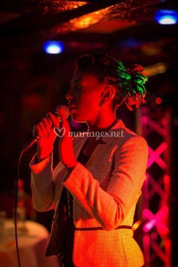 Chanteuse live