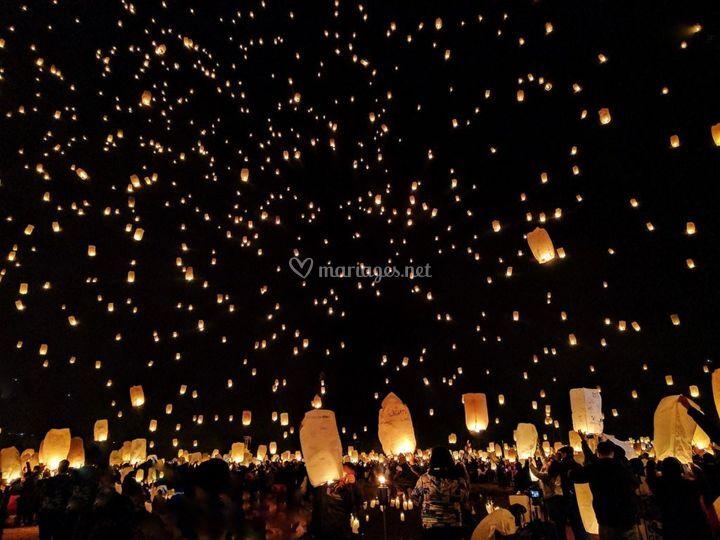 Lanternes ou Ballons
