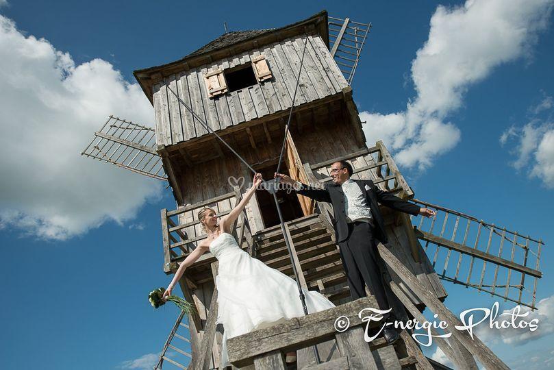 Mariés moulin Aube